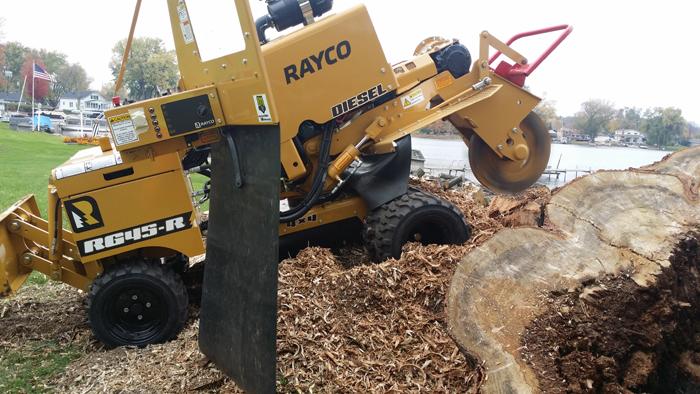 stump grinding rochester hills